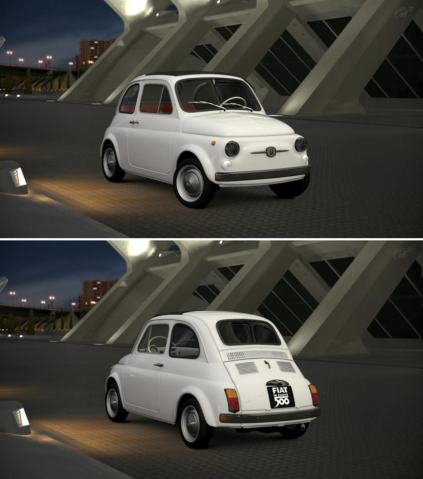 fiat 500 f 39 68 by gt6 garage on deviantart. Black Bedroom Furniture Sets. Home Design Ideas
