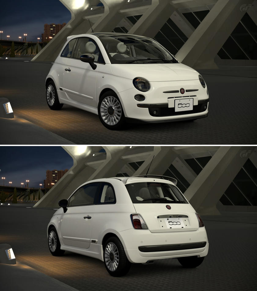 Fiat 500 1 2 8v lounge ss 39 08 by gt6 garage on deviantart for Garage fiat 94