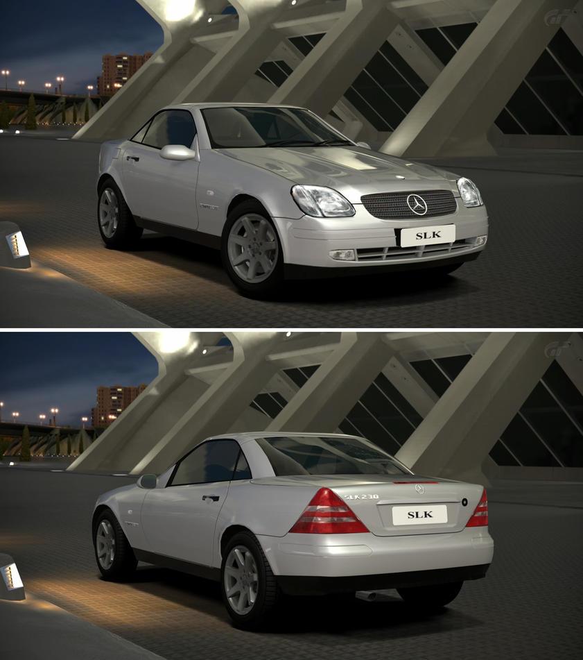 Mercedes benz slk 230 kompressor 39 98 by gt6 garage on for Mercedes benz garages
