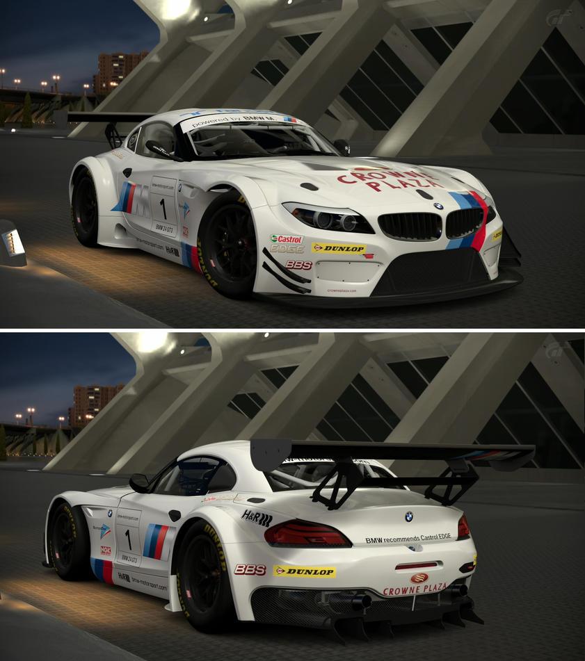 Bmw Z4 Gt3: BMW Z4 GT3 '11 By GT6-Garage On DeviantArt