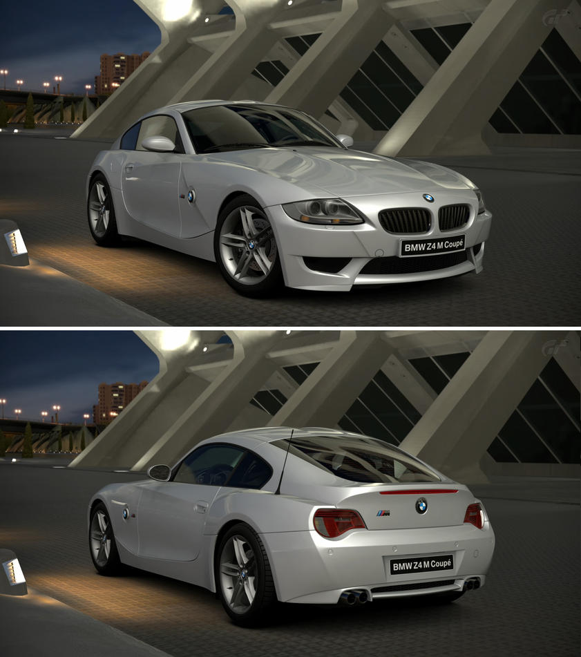 Bmw Z4 M Coupe 08 By Gt6 Garage On Deviantart