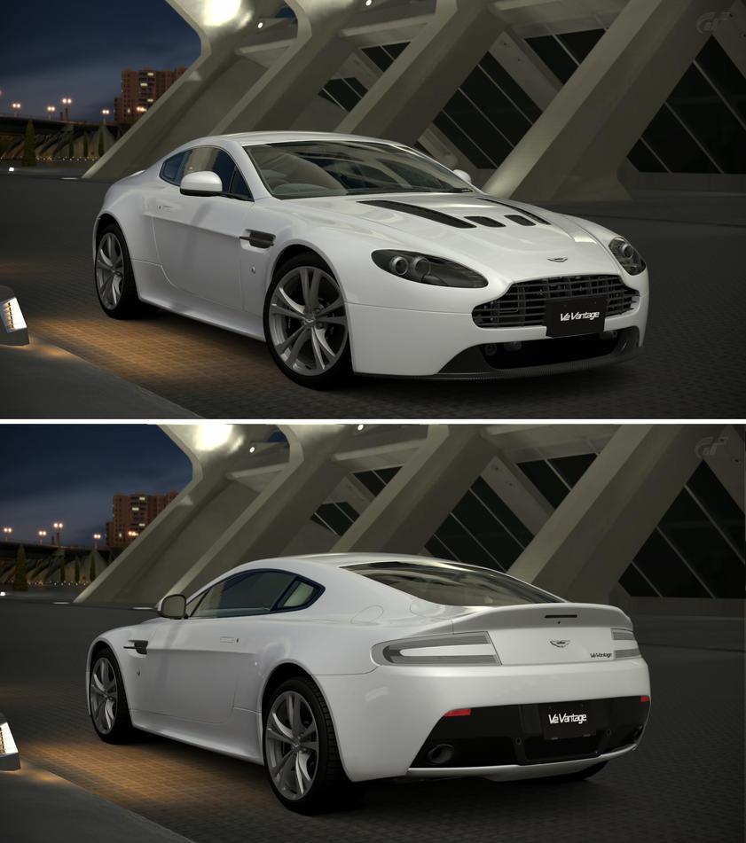 Aston Martin V12 Vantage: Aston Martin V12 Vantage '10 By GT6-Garage On DeviantArt