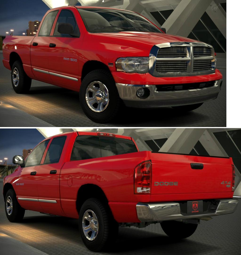 Hemi Dodge Truck: RAM 1500 LARAMIE Hemi Quad Cab '04 By GT6-Garage On DeviantArt