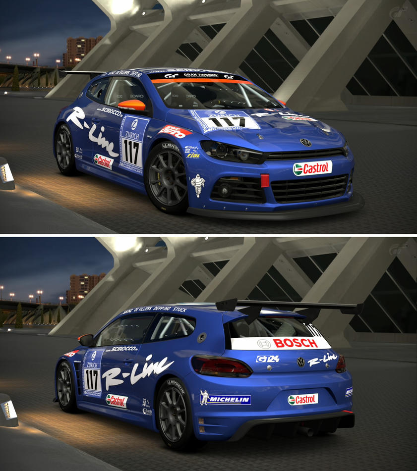 Volkswagen scirocco gt24 volkswagen motorsport by gt6 for Garage volkswagen paris 13