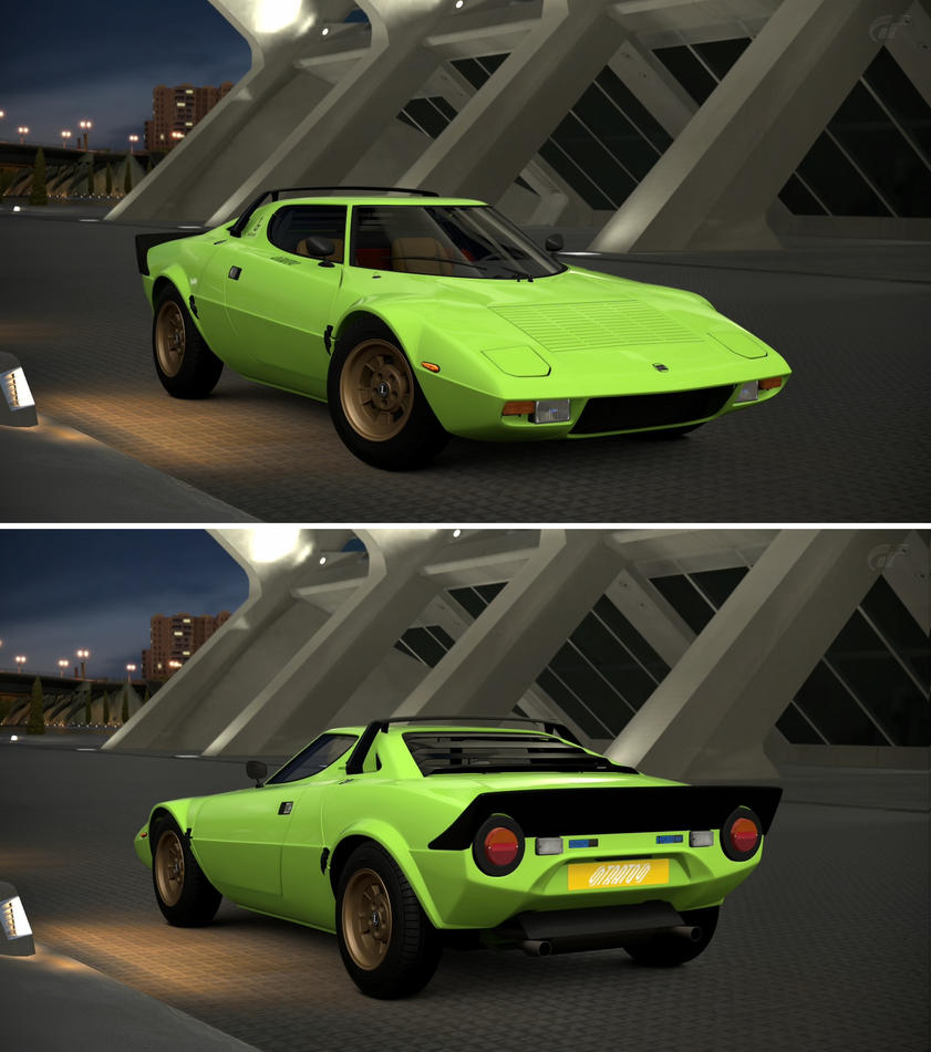 lancia stratos 39 73 by gt6 garage on deviantart. Black Bedroom Furniture Sets. Home Design Ideas