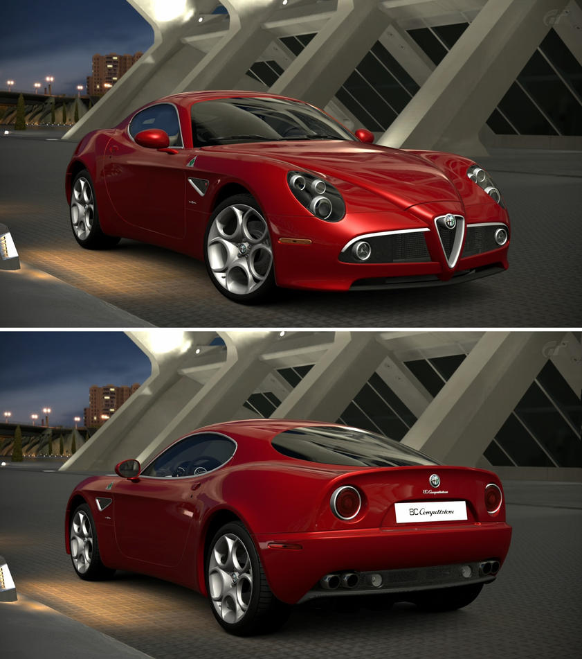 Alfa romeo 8c competizione 39 08 by gt6 garage on deviantart for Garage specialiste alfa romeo