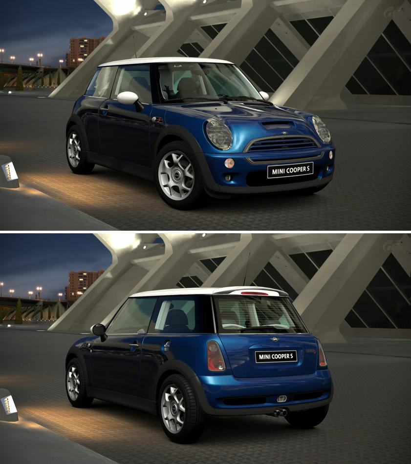 Mini cooper s 39 05 by gt6 garage on deviantart for Garage mini cooper annemasse