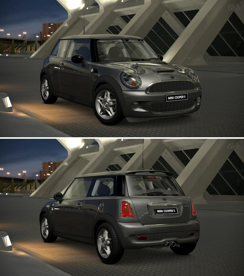 Mini cooper s 39 07 by gt6 garage on deviantart for Garage mini cooper annemasse