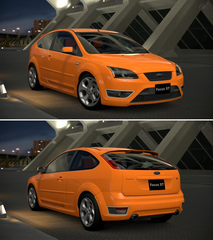 Ford focus st 39 06 by gt6 garage on deviantart for Garage ford st maximin
