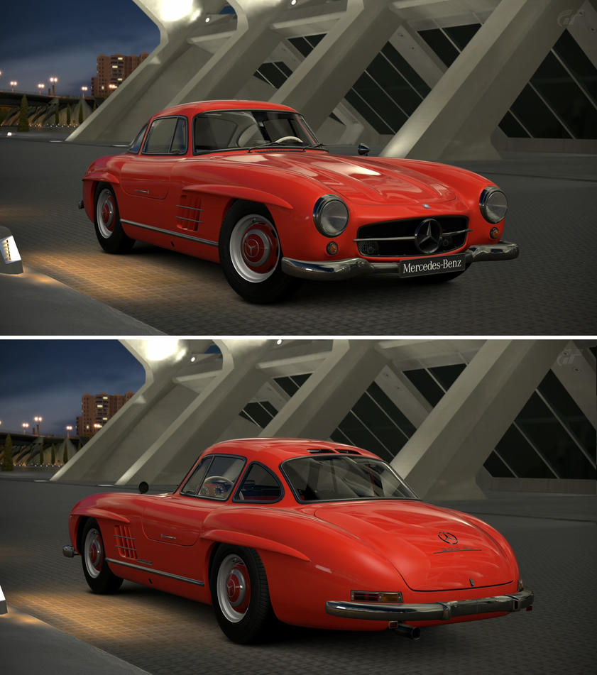 mercedes benz 300 sl coupe 39 54 by gt6 garage on deviantart. Black Bedroom Furniture Sets. Home Design Ideas