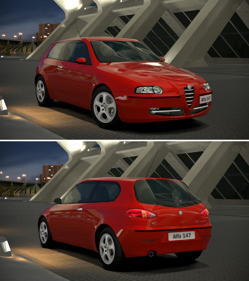 Alfa Romeo 147 2.0 TWIN SPARK '02 By GT6-Garage On DeviantArt