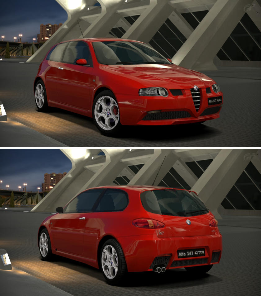 Alfa romeo 147 gta 39 02 by gt6 garage on deviantart for Garage specialiste alfa romeo