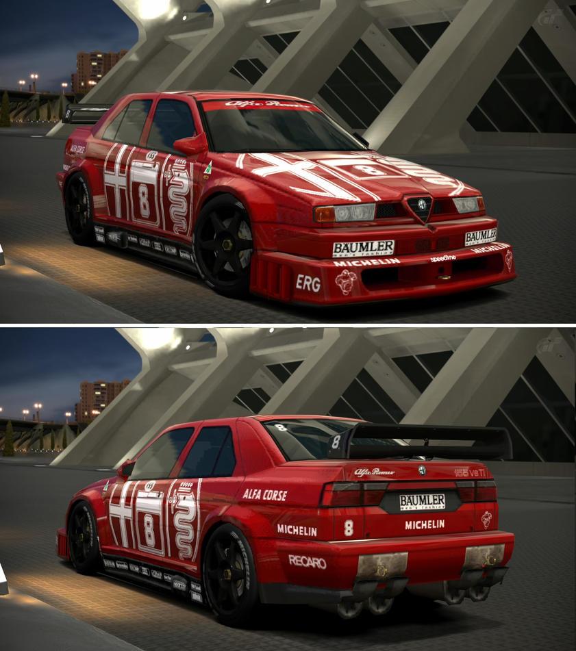Alfa Romeo 155 2.5 V6 TI '93 By GT6-Garage On DeviantArt