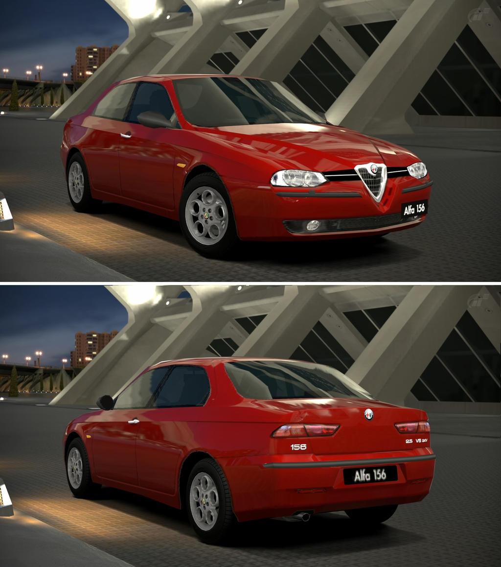 Alfa Romeo 156 2.5 V6 24V '98 By GT6-Garage On DeviantArt