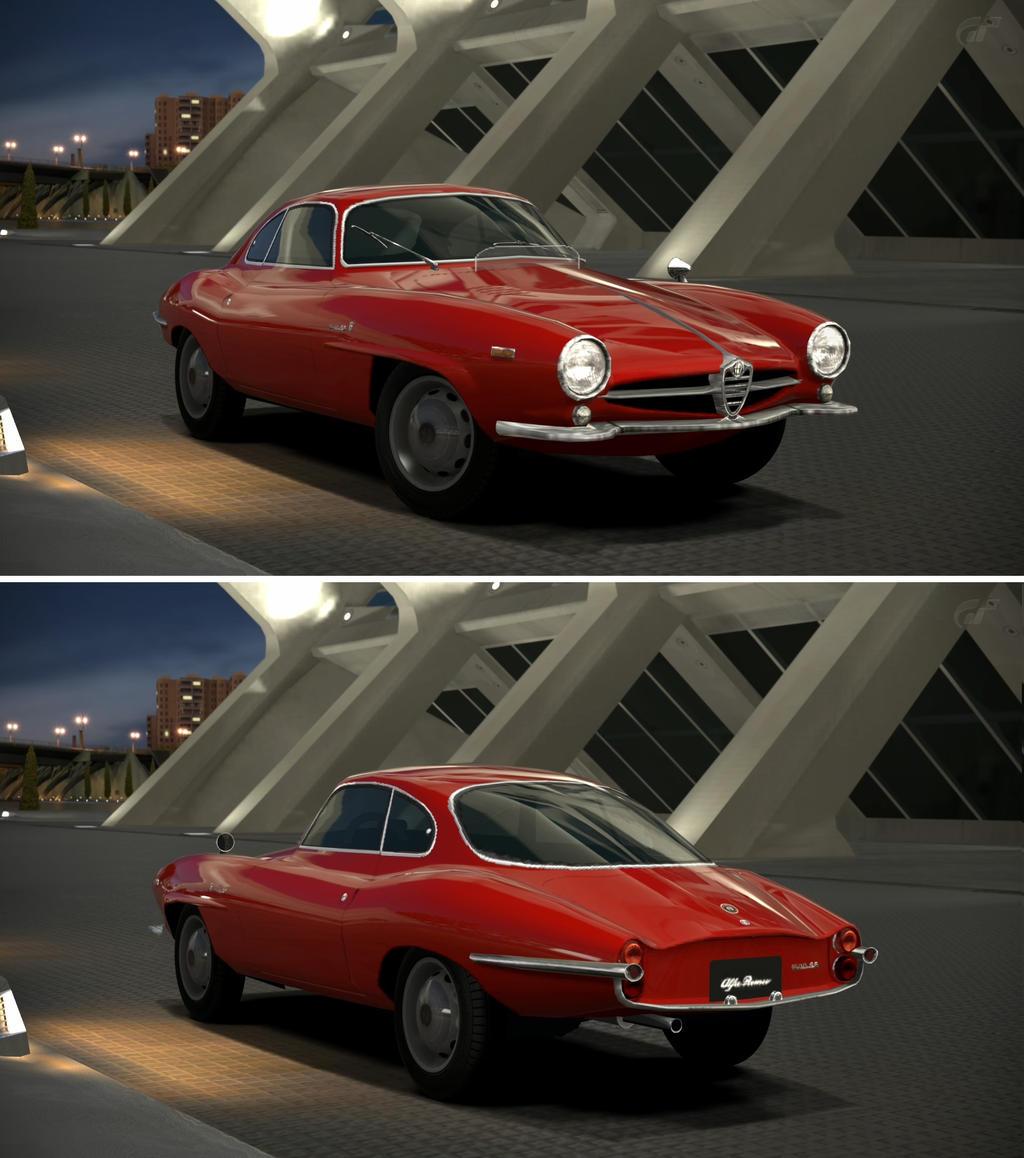 Alfa Romeo Giulia Sprint Speciale '63 By GT6-Garage On