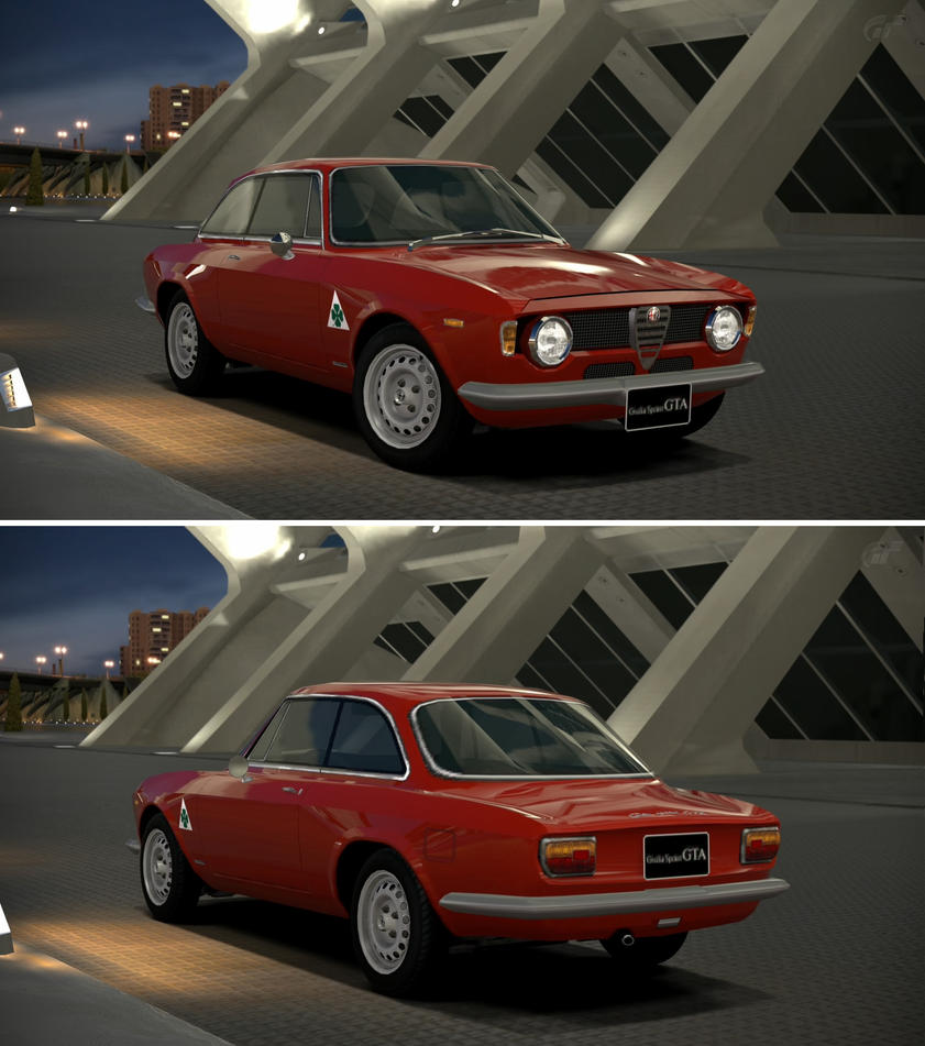 Alfa Romeo Giulia Sprint GTA 1600 '65 By GT6-Garage On