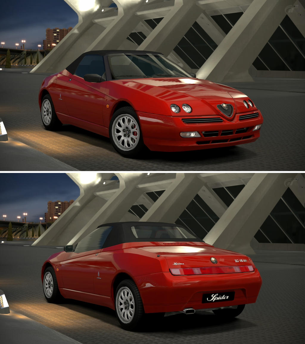 Alfa romeo spider v6 24v 39 01 by gt6 garage on deviantart for Garage specialiste alfa romeo