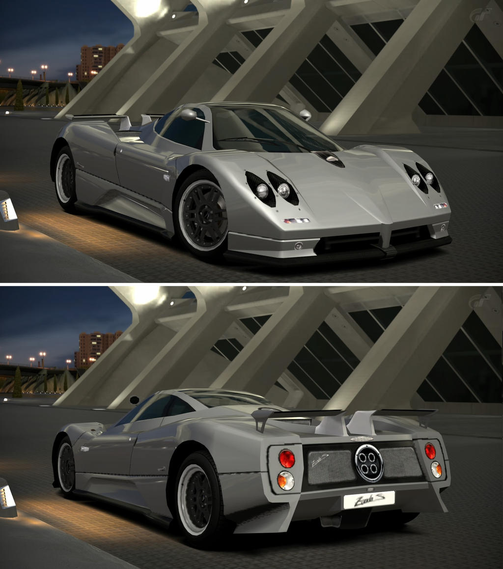 Pagani Zonda C12S '00 By GT6-Garage On DeviantArt