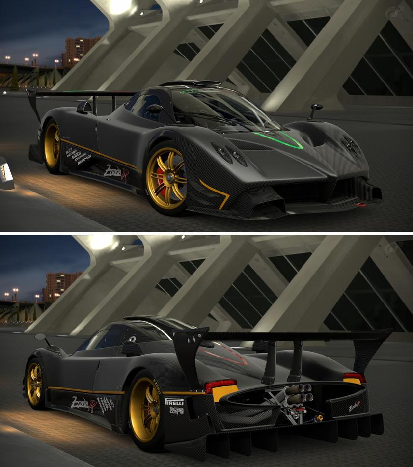 Pagani Zonda R '09 by GT6-Garage on DeviantArt
