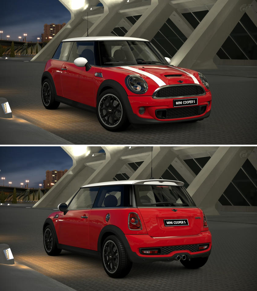 Mini cooper s 39 11 by gt6 garage on deviantart for Garage mini cooper annemasse