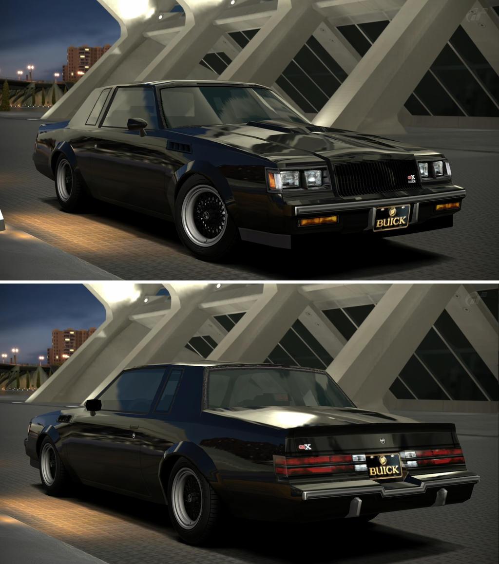 Buick gnx 39 87 by gt6 garage on deviantart for Garage seguin 87