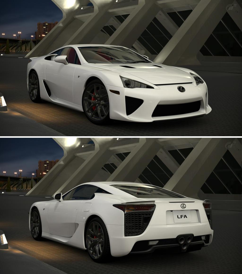 Lexus Lfa: Lexus LFA '10 By GT6-Garage On DeviantArt