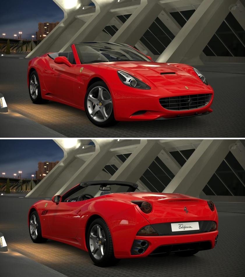 Ferrari California '08 By GT6-Garage On DeviantArt