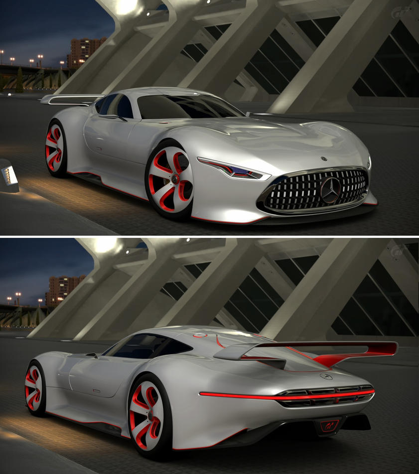 Beautiful Mercedes Benz AMG Vision Gran Turismo Racing Se... By GT6 Garage ...