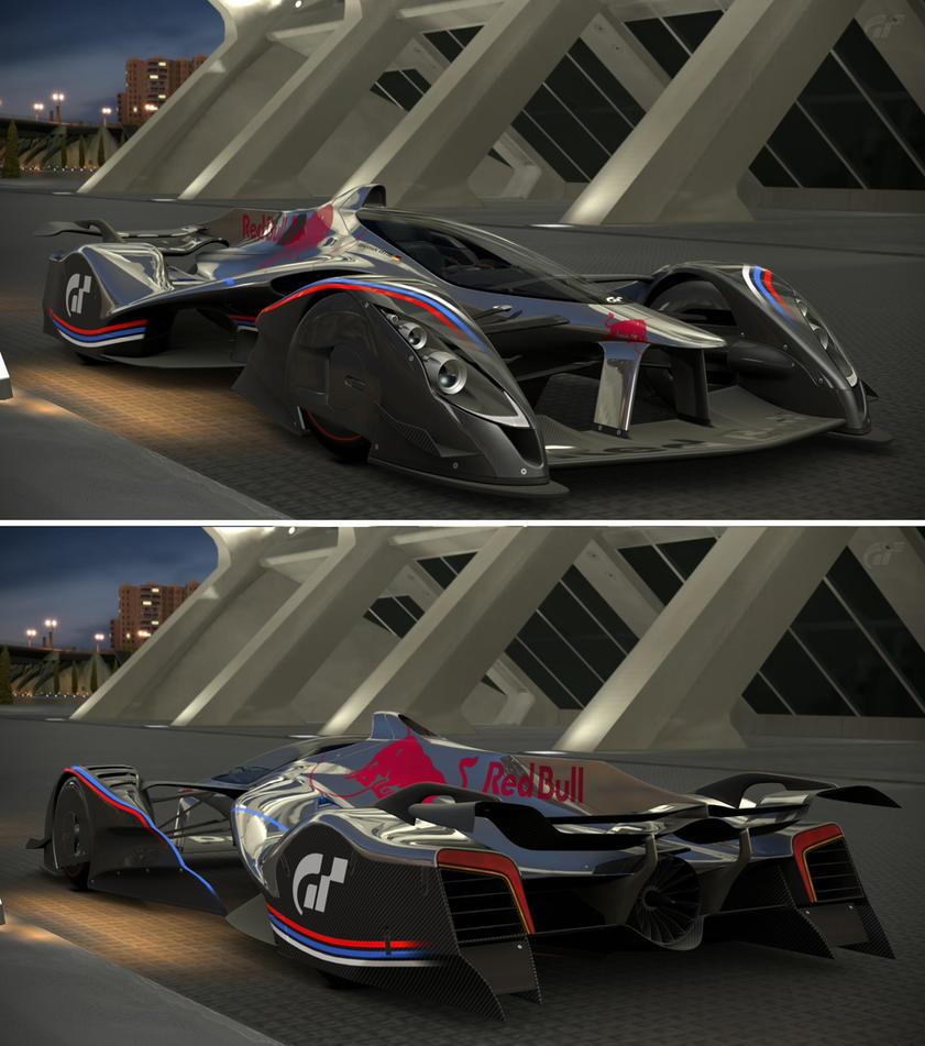 Gran Turismo Red Bull X2014 Fan Car By GT6-Garage On