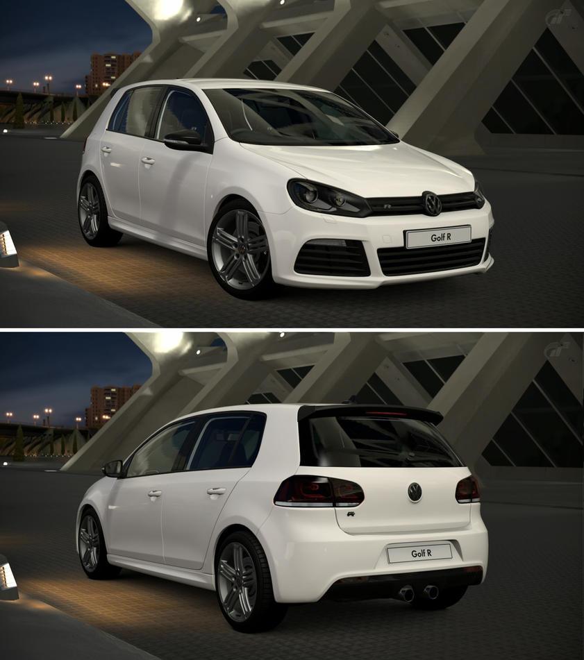 Volkswagen golf vi r 39 10 by gt6 garage on deviantart for Garage volkswagen paris 10