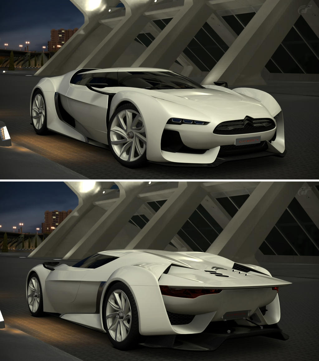 Citroen GT By Citroen Concept '08 By GT6-Garage On DeviantArt