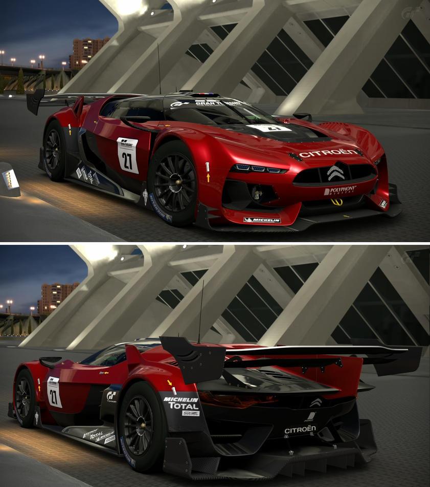 Citroen Car Wallpaper: Citroen GT By Citroen Race Car By GT6-Garage On DeviantArt