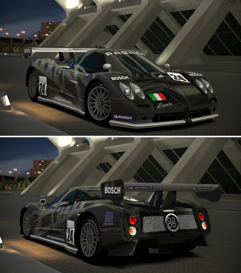 Pagani zonda lm race car by gt6 garage on deviantart for Garage gt auto