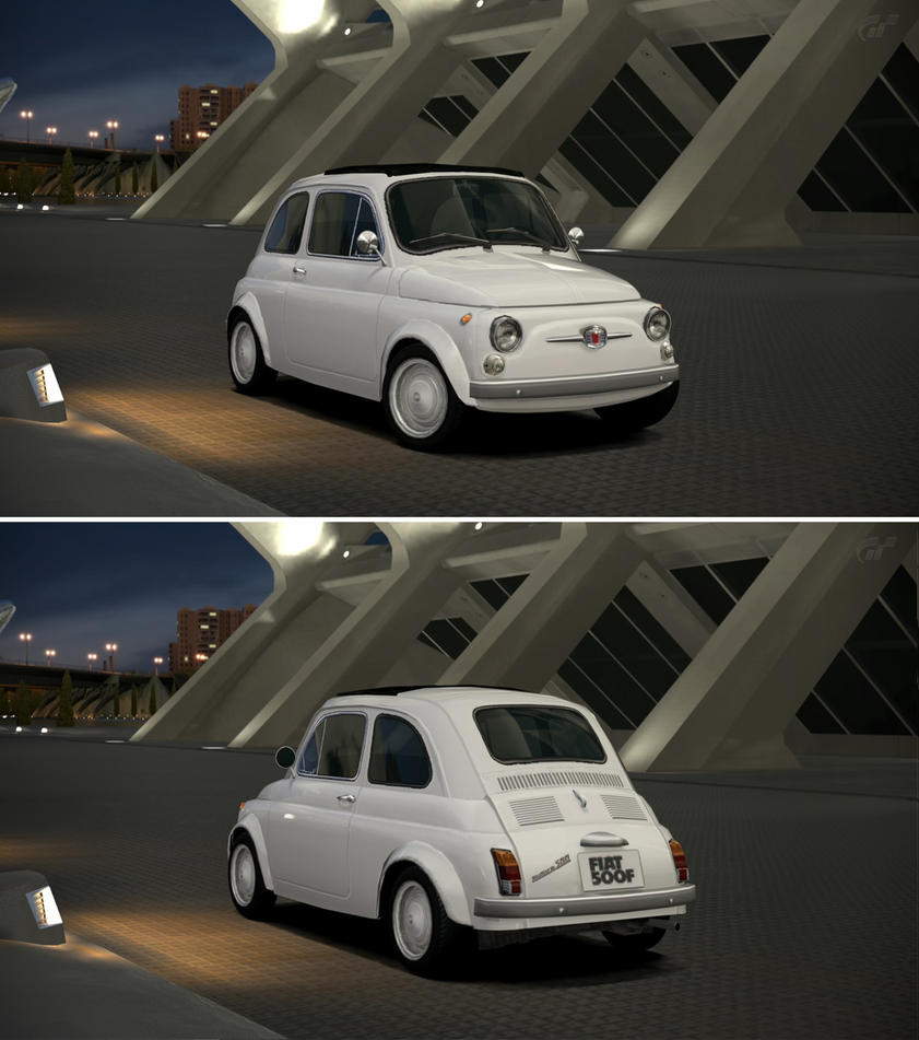 Fiat 500 f 39 65 by gt6 garage on deviantart for Garage fiat 500