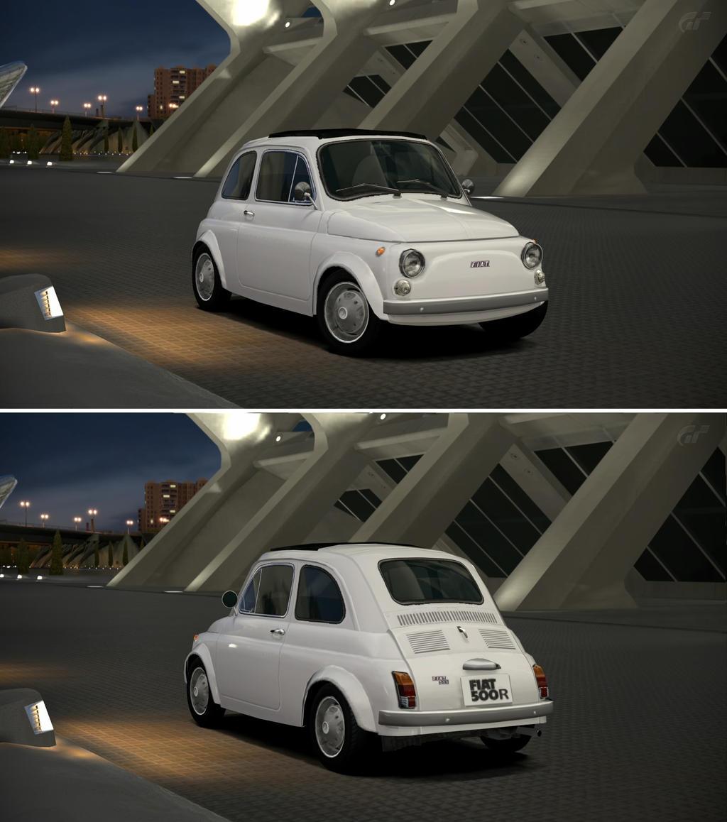 Fiat 500 R '72 By GT6-Garage On DeviantArt
