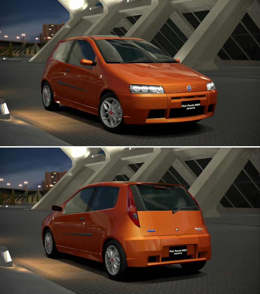 fiat punto hgt abarth 39 00 by gt6 garage on deviantart. Black Bedroom Furniture Sets. Home Design Ideas
