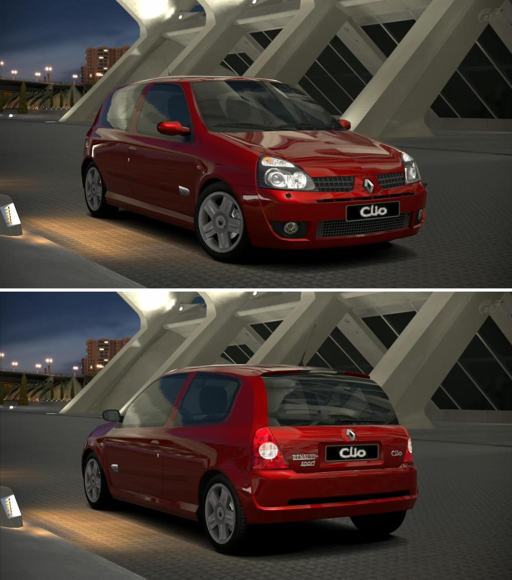 Renault sport clio r s 2 0 16v 39 02 by gt6 garage on for Garage clio 4