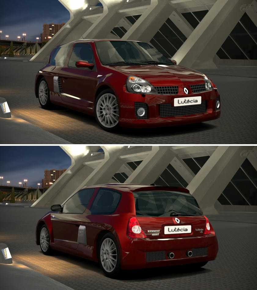 Renault Sport: Renault Sport Lutecia V6 Phase 2 '03 By GT6-Garage On