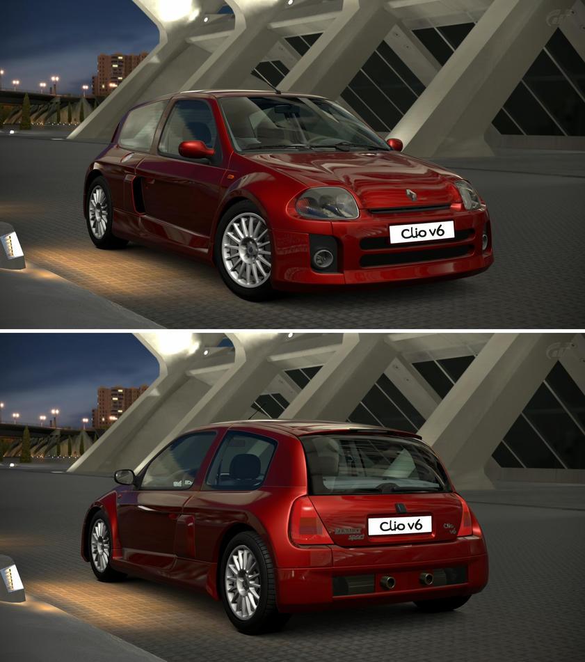 Renault Clio V6 Engine