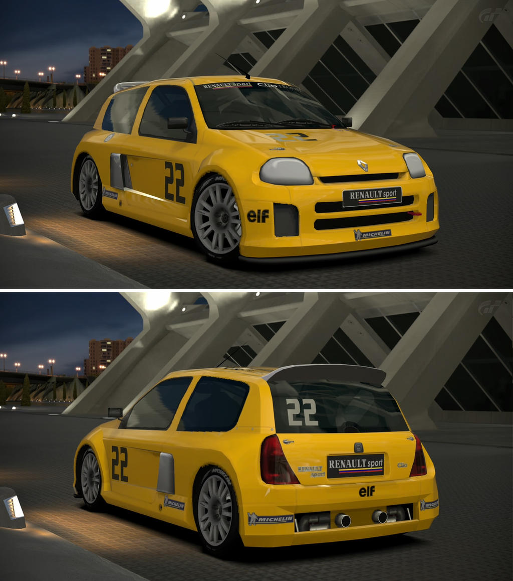 Renaultsport Clio: Renault Sport Clio V6 Trophy 24V '00 By GT6-Garage On