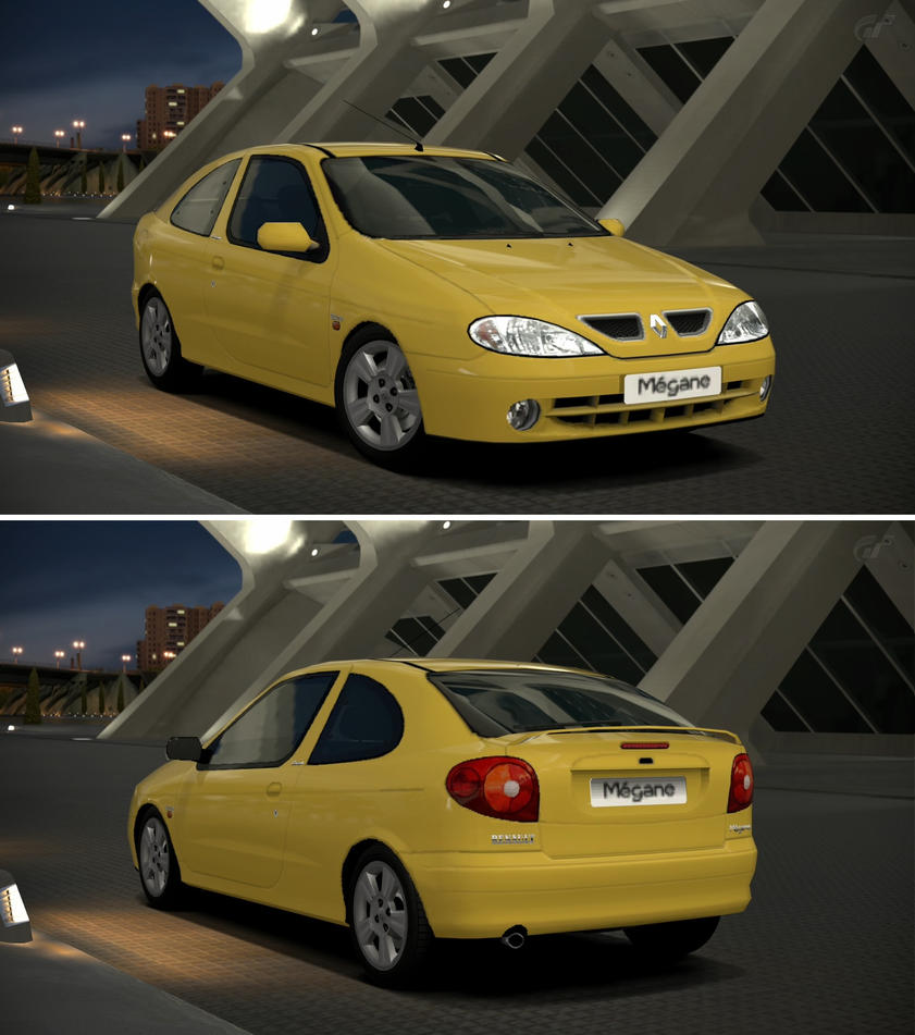 Renault Megane Coupe: Renault Megane 2.0 IDE Coupe '00 By GT6-Garage On DeviantArt