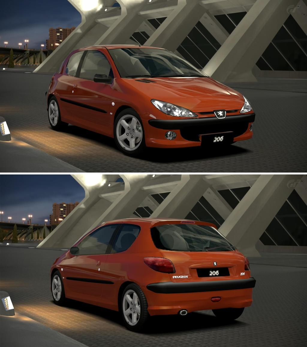 Peugeot 206 s16 39 99 by gt6 garage on deviantart for Reprise 206 garage
