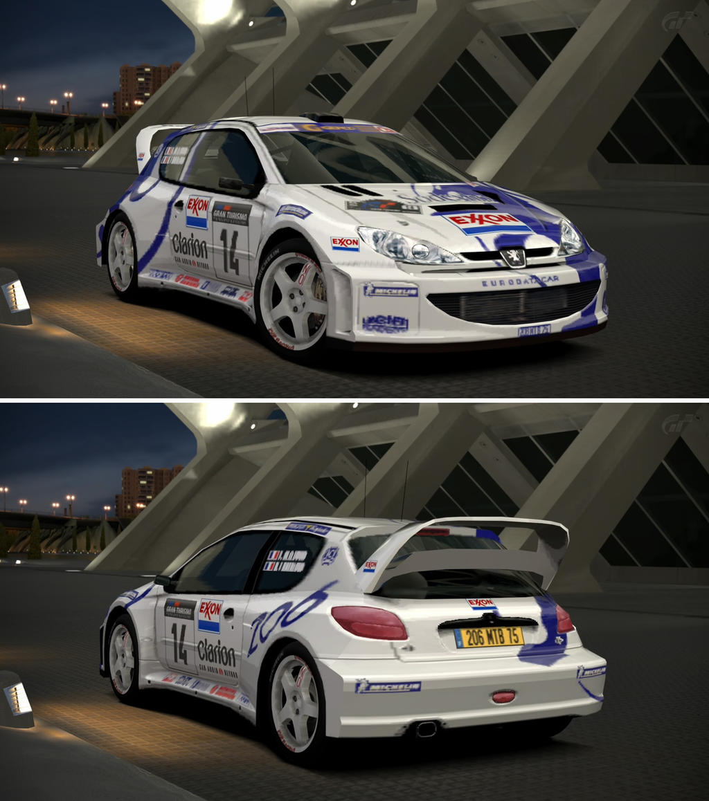 Peugeot 206 rally car 39 99 by gt6 garage on deviantart for Garage peugeot 76
