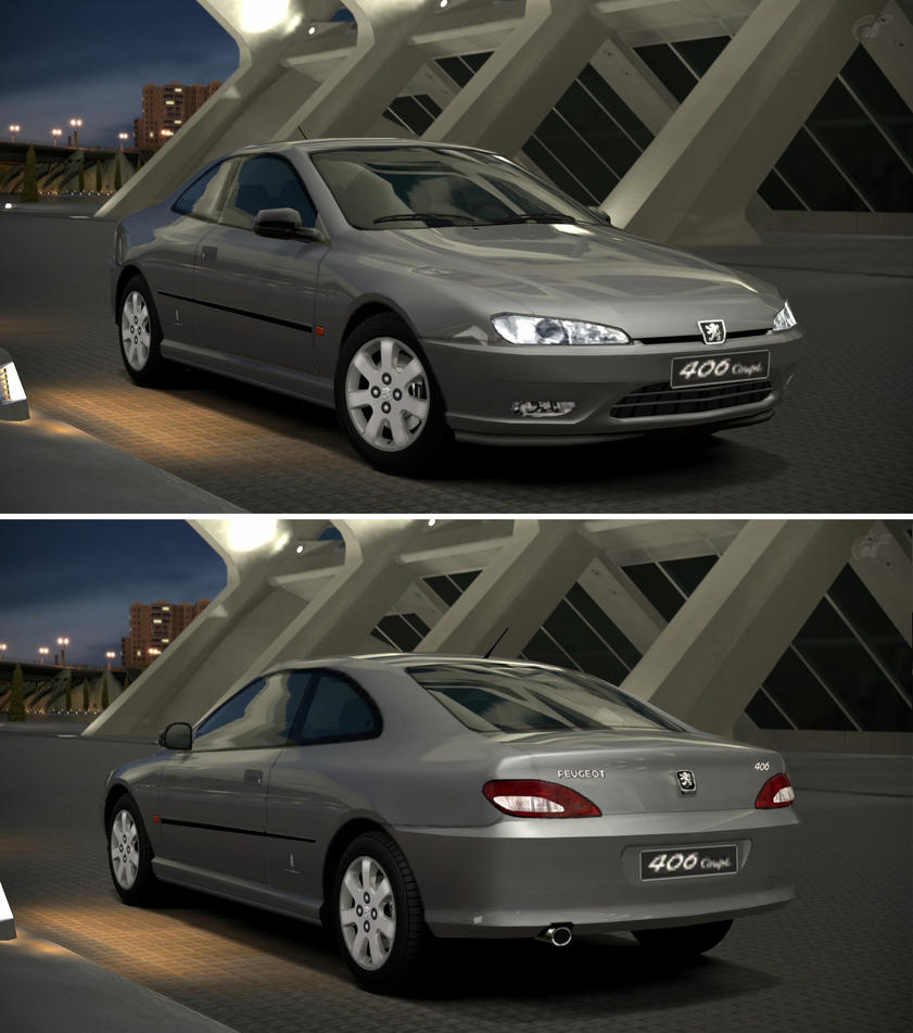 peugeot 406 coupe 3 0 v6 39 98 by gt6 garage on deviantart. Black Bedroom Furniture Sets. Home Design Ideas