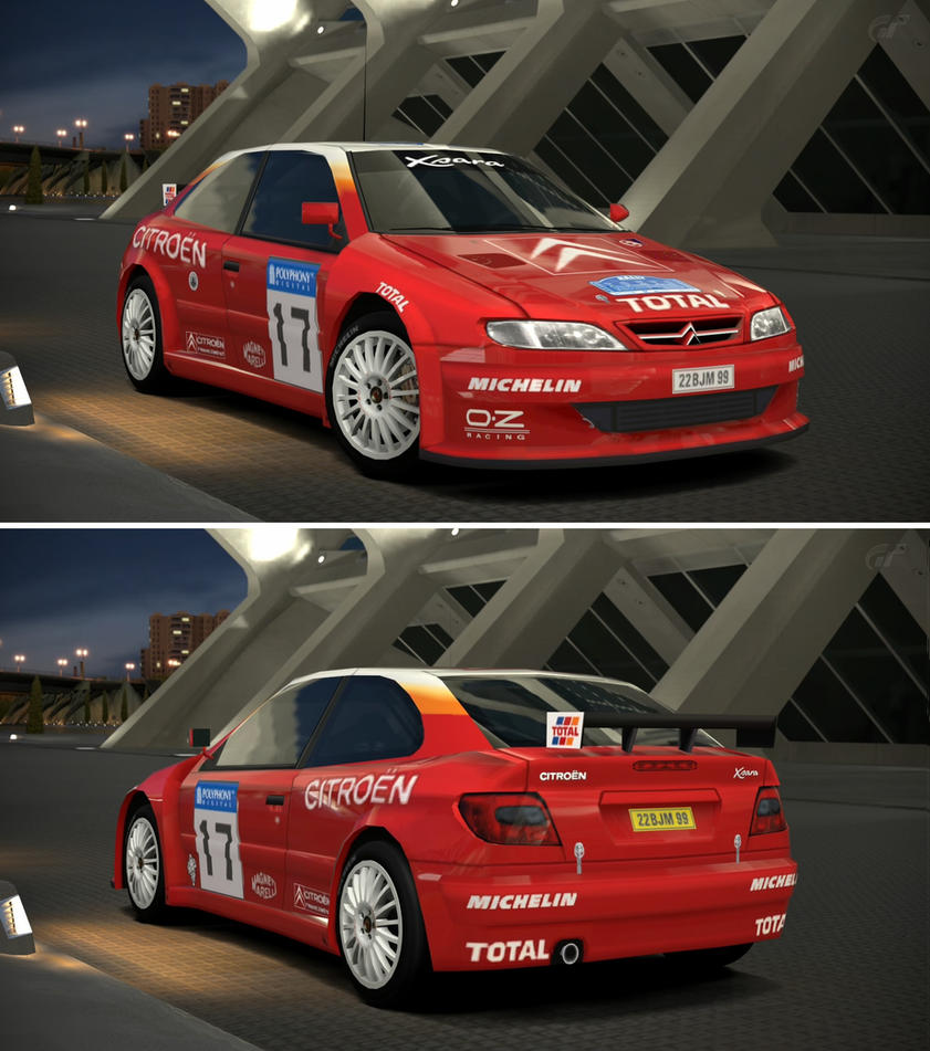 citroen xsara rally car 39 99 by gt6 garage on deviantart. Black Bedroom Furniture Sets. Home Design Ideas