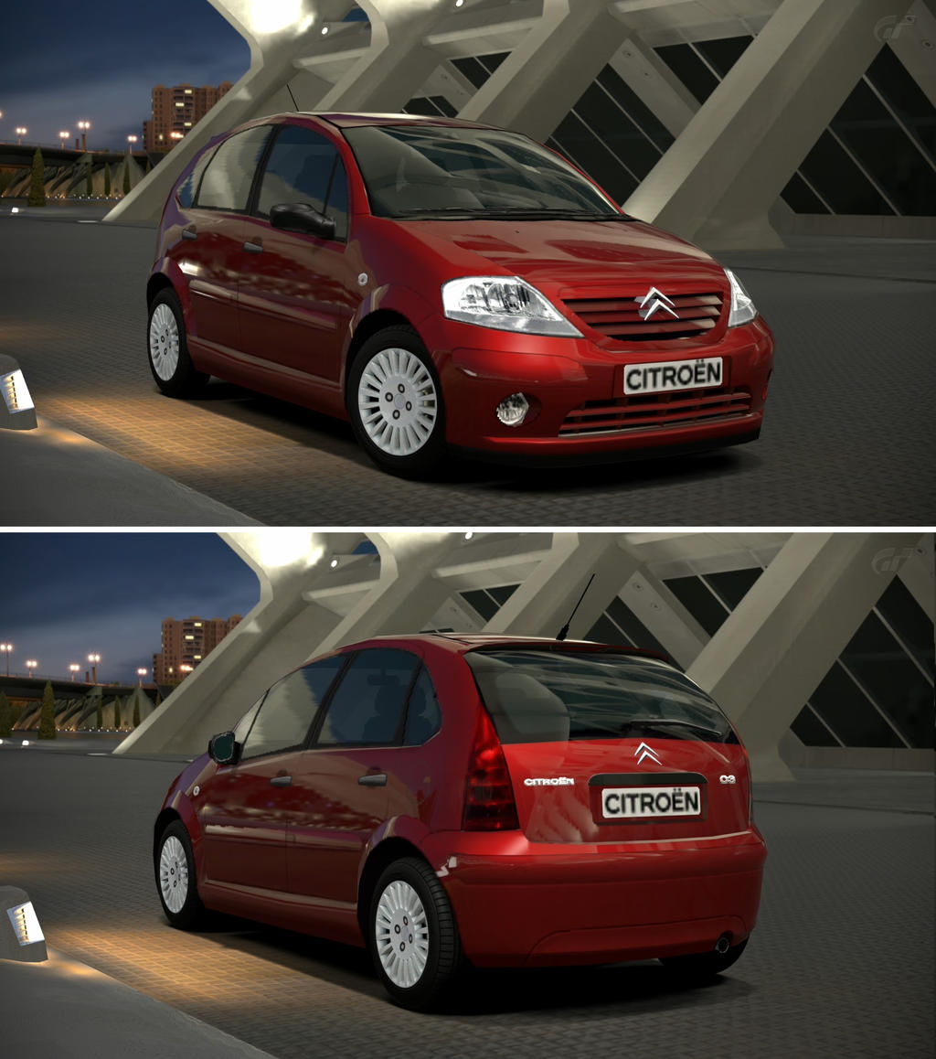 Citroen c3 1 6 39 02 by gt6 garage on deviantart for Citroen antibes garage