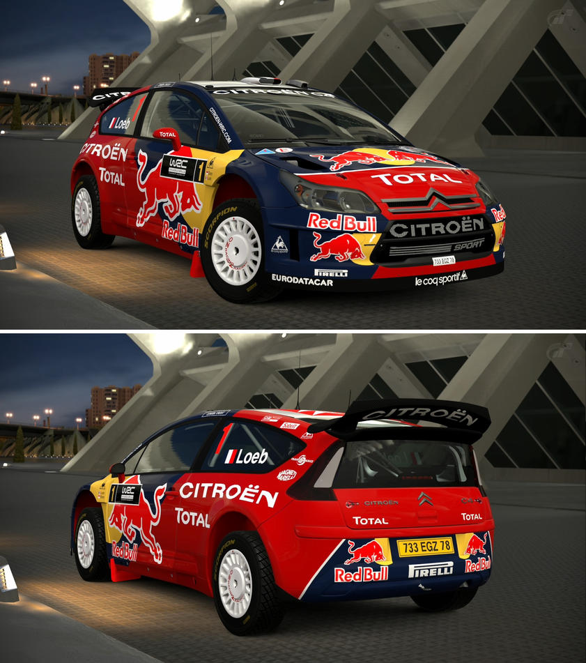 Citroen c4 wrc 39 08 by gt6 garage on deviantart for Garage citroen c4
