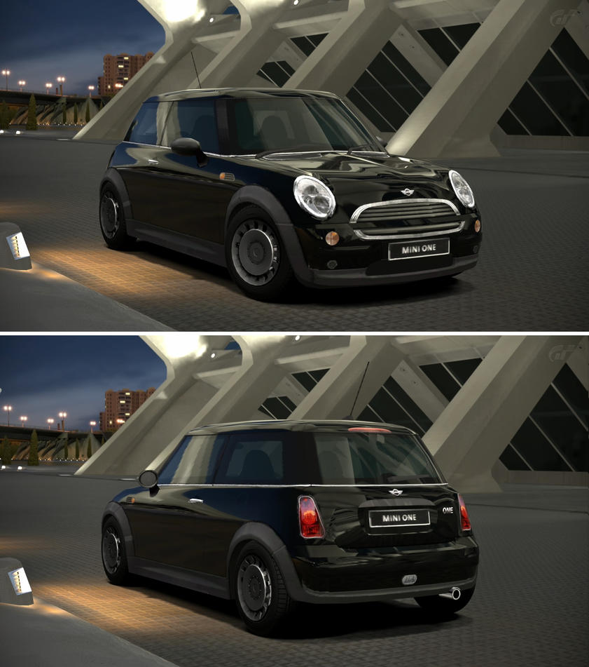 Mini one 39 02 by gt6 garage on deviantart for Garage mini 92