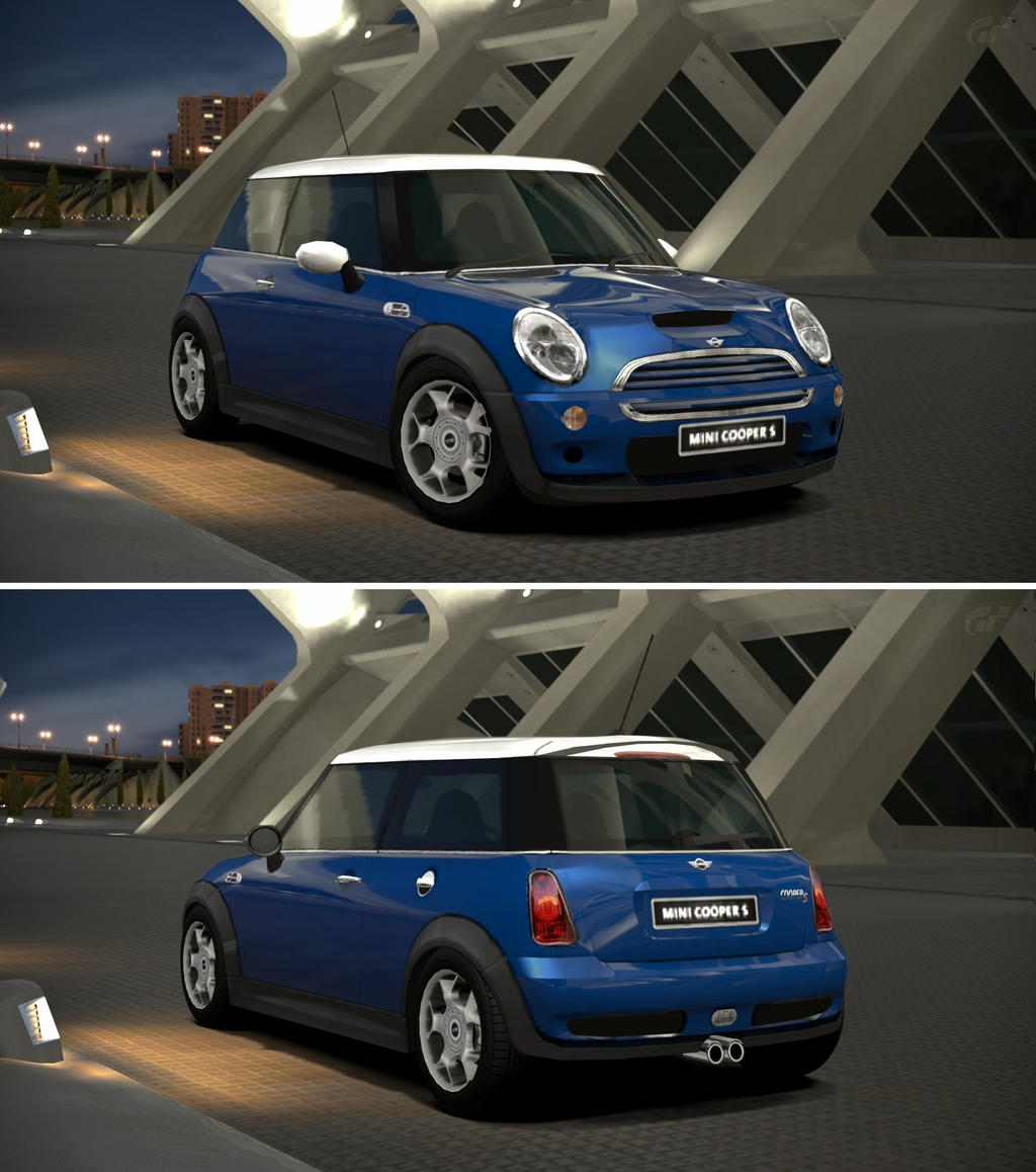 mini cooper s 39 02 by gt6 garage on deviantart