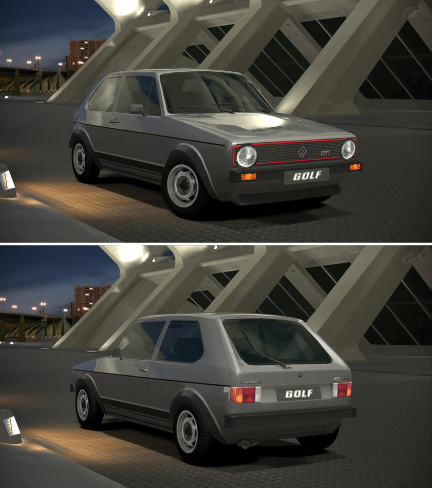 Volkswagen golf i gti 39 76 by gt6 garage on deviantart for Garage volkswagen 78 chambourcy